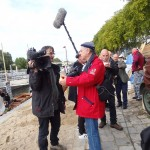 Media na Polskim stoisku w Orleanie