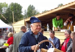 Zbigniew Gąsowski na Polskim stoisku w trakcie festiwalu Loary w orleanie