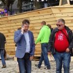 Marszałek Województwa Świętokrzyskiego Adam Jarubas na Polskim stoisku w trakcie festiwalu Loary w Orleanie