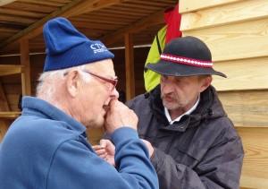 Zbigniew Gąsowski i Jarosław Kałuża w trakcie Festiwalu Loary w Orleanie