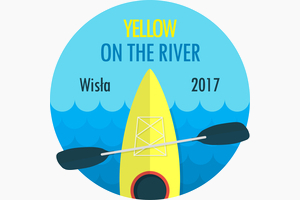 yellow on the river