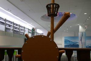 Wystawa żaglowców w CN Młyn Wiedzy